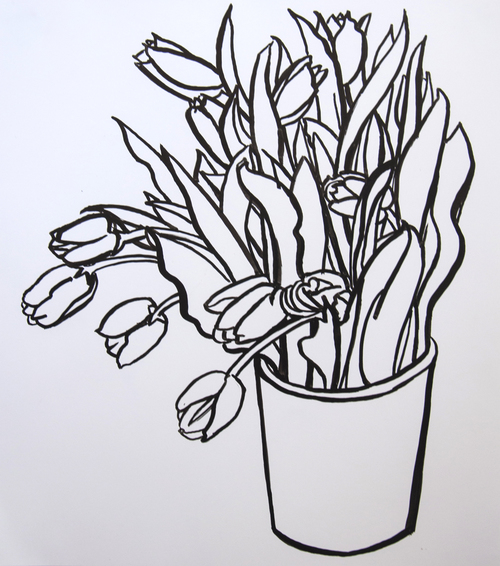 A Dozen Tulips
