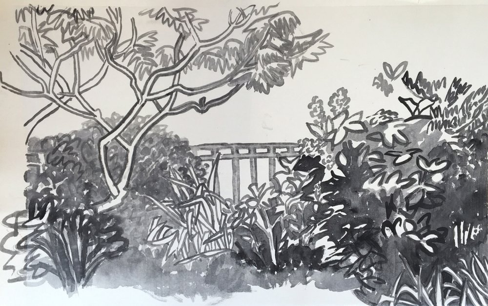 Garden in Wicker Park