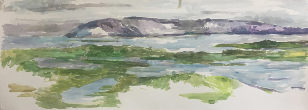 View from Cleendra, Donegal, Ireland, 2017