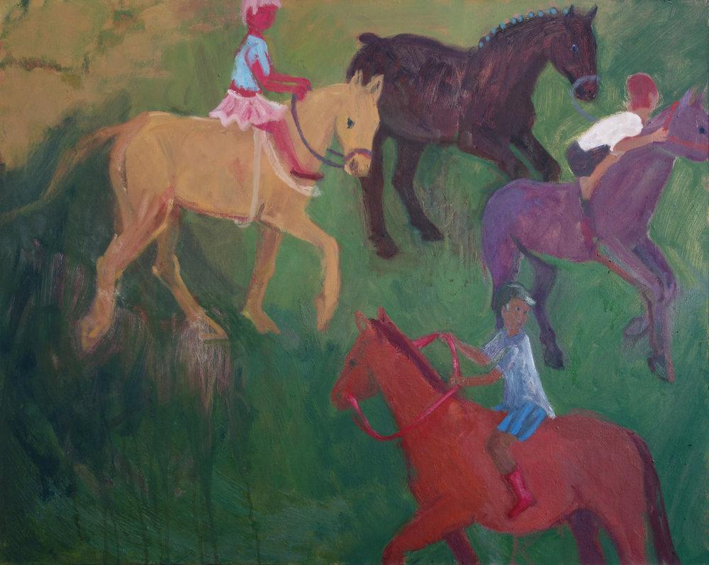 Four Horses, 2017-18