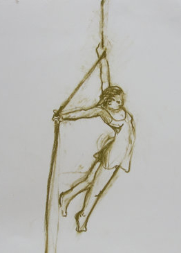 Woman on a Rope