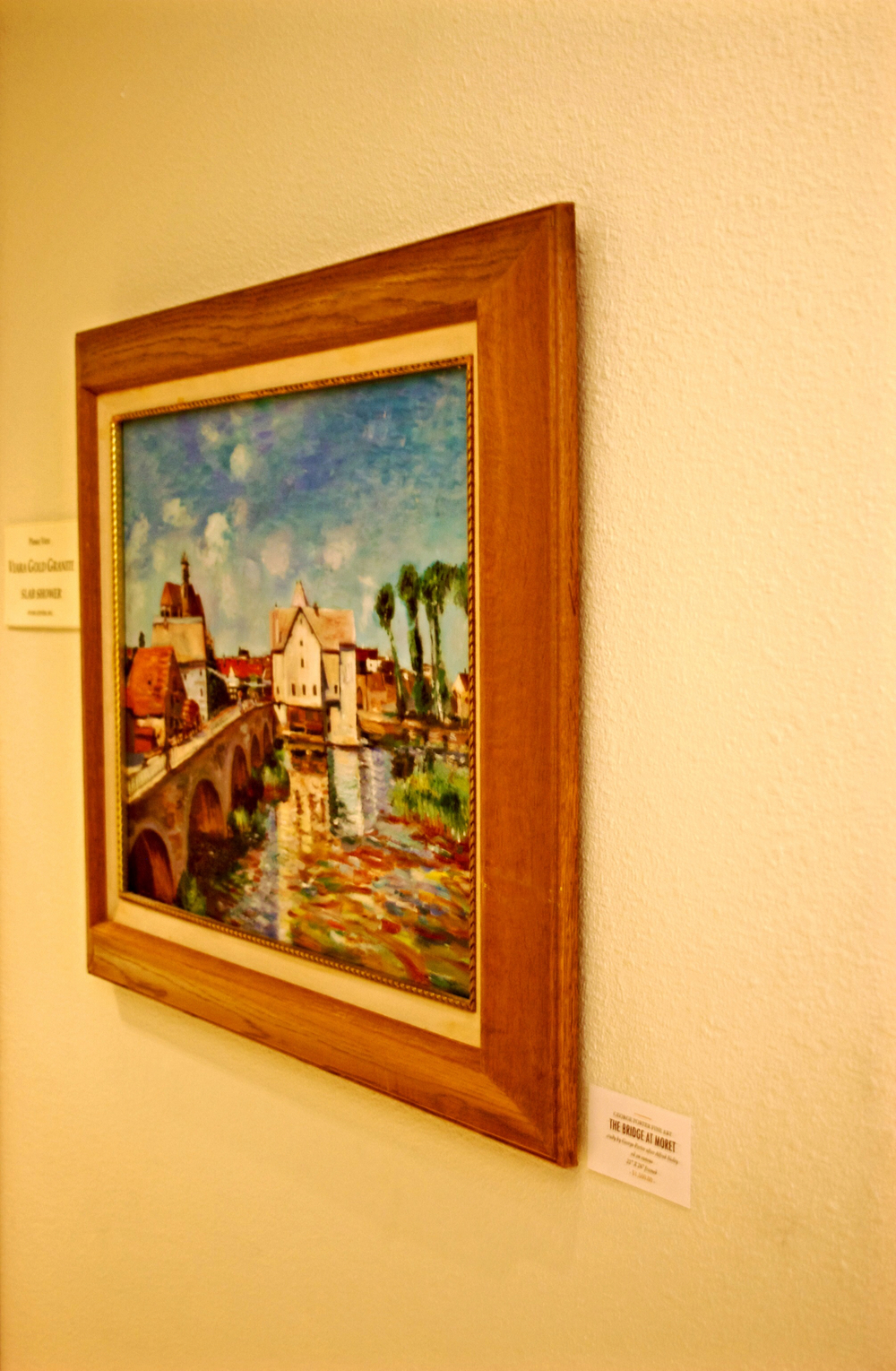The Bridge at Moret by George Porter after Alfred Sisley at Stone Center Inc