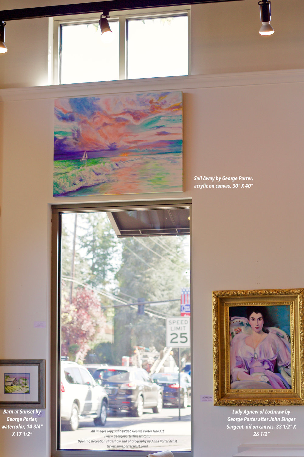 Paintings by George Porter Fine Art at Cascade Sotheby's Lake Oswego
