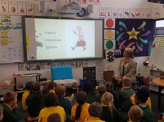 Wattleview Primary School's introduction to their local history mystery