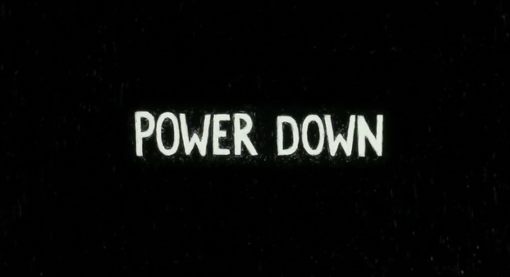 「 Power Down 」(2017)  directed by Marilou Soller music by Marty Hicks  animated short film・短編アニメーション映画   Tokyo University of the Arts x École Nationale Supérieure des Arts Décoratifs (ENSAD)
