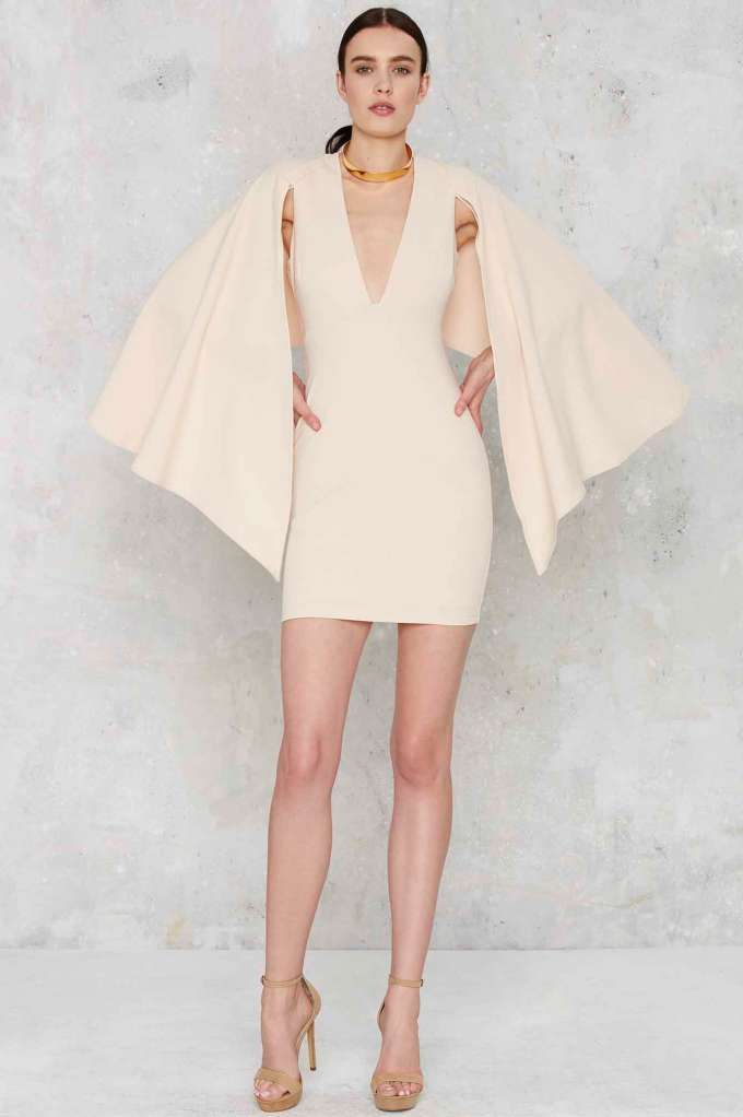 cape dress nasty gal.jpg