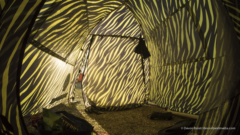 View from inside my Big Agnes After Party Tent from Burton