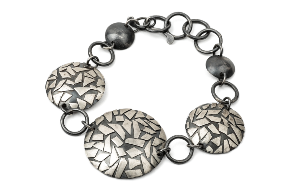 "A bracelet from the ""Shatter"" series."