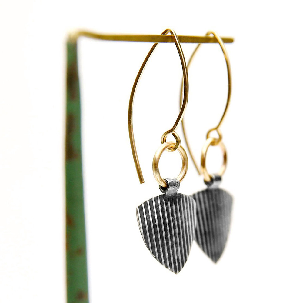 Striped industrial earrings.jpg