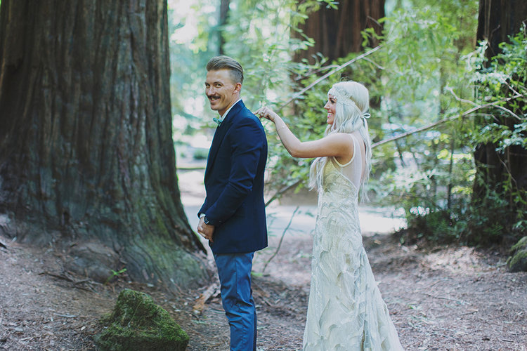Armstrong Forest Wedding by Alixann Loosle