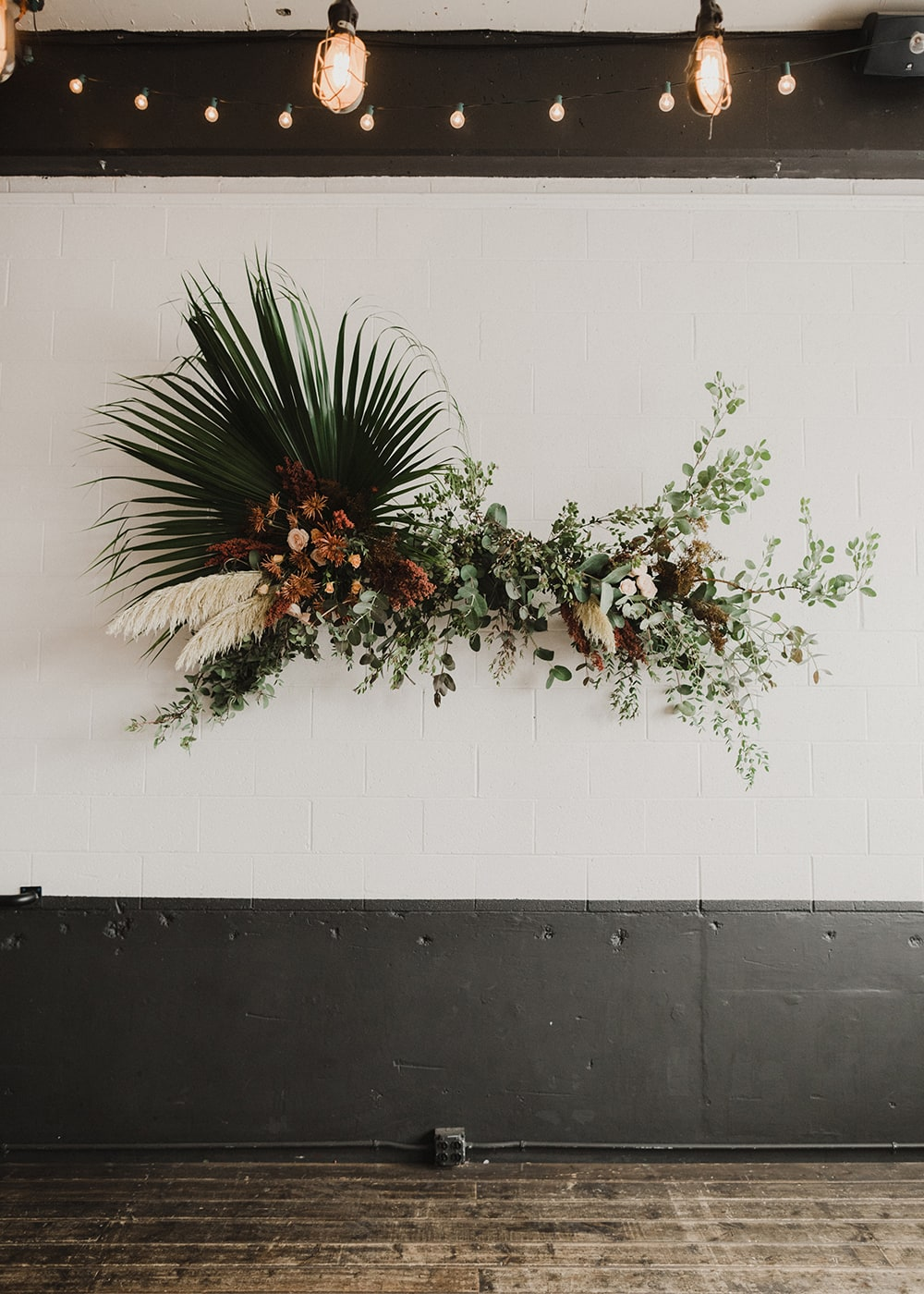 floral installation by goodseed floral