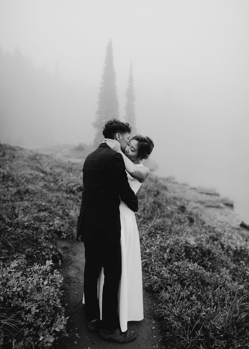 Tipsoo Lake Engagement Photos Washington Mount Rainier6.jpg