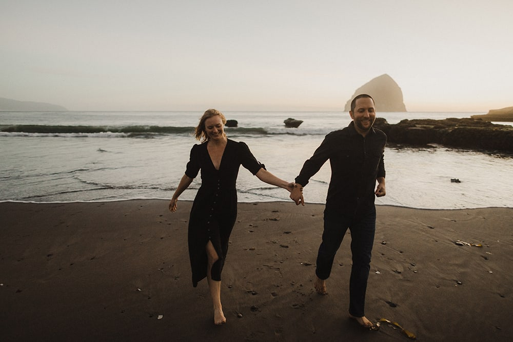 Oregon Coast Engagements by Alixann Loosle