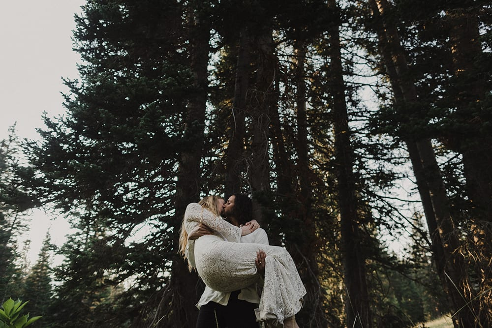 Albion Basin Elopement by Alixann Loosle