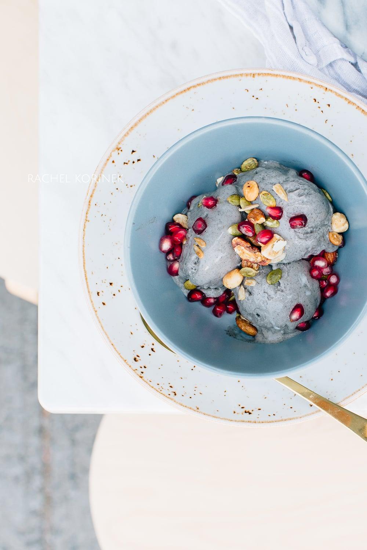Rachel Korinek | Black Sesame Ice Cream  Click to check out my latest food photography projects.  #twolovesstudio #beautifulcuisine #foodbloggerpro #foodphotography #learnfoodphotography #foodblogger #learnphotography #foodstyling #lightingtips #naturallight #foodphotographer