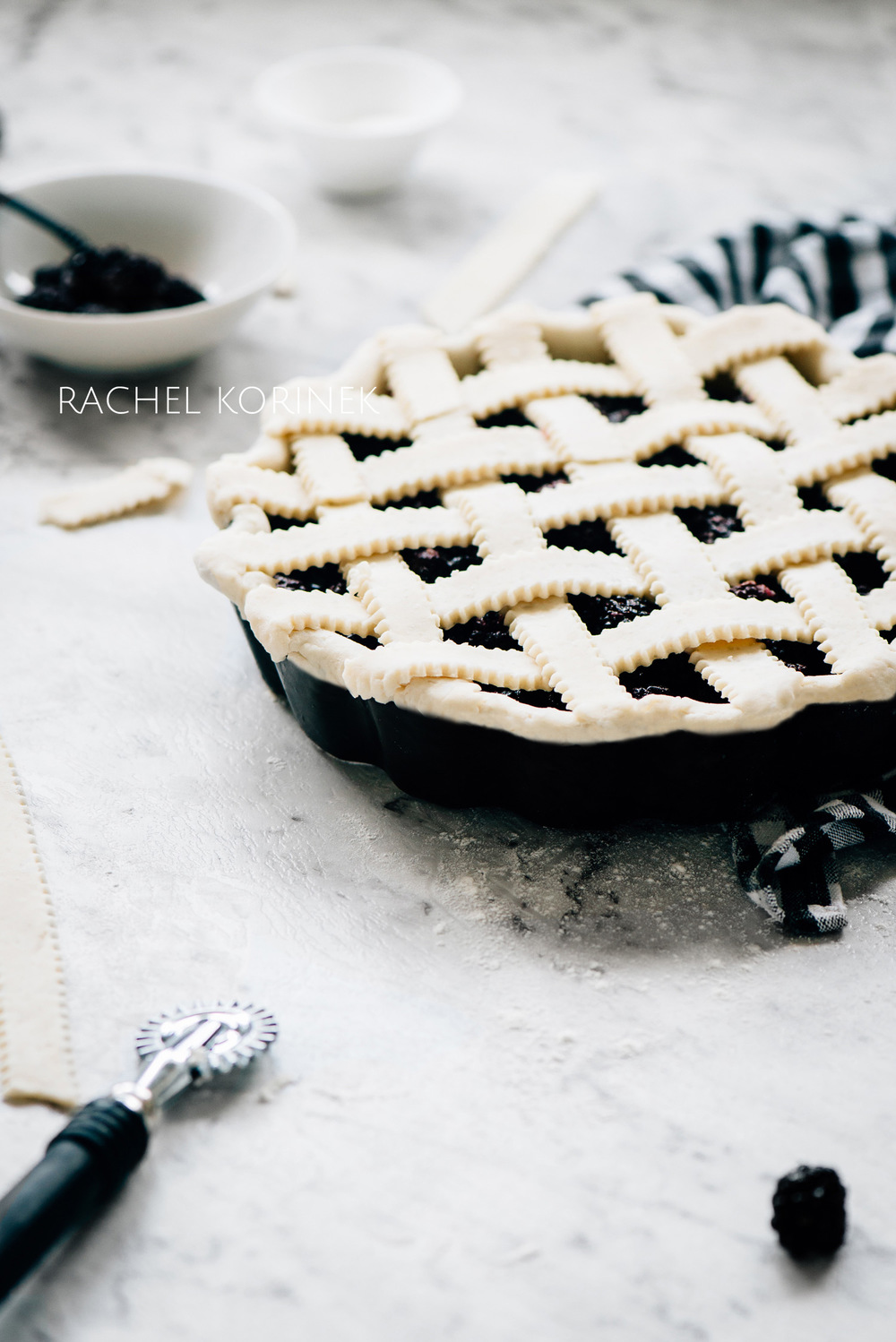 Rachel Korinek Food Photographer Melbourne | Black White Food Photography