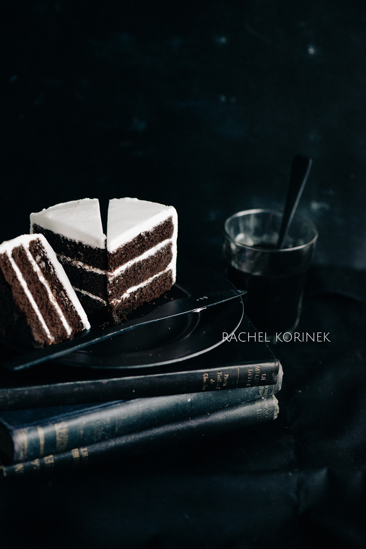 Black white food photography rachel korinek
