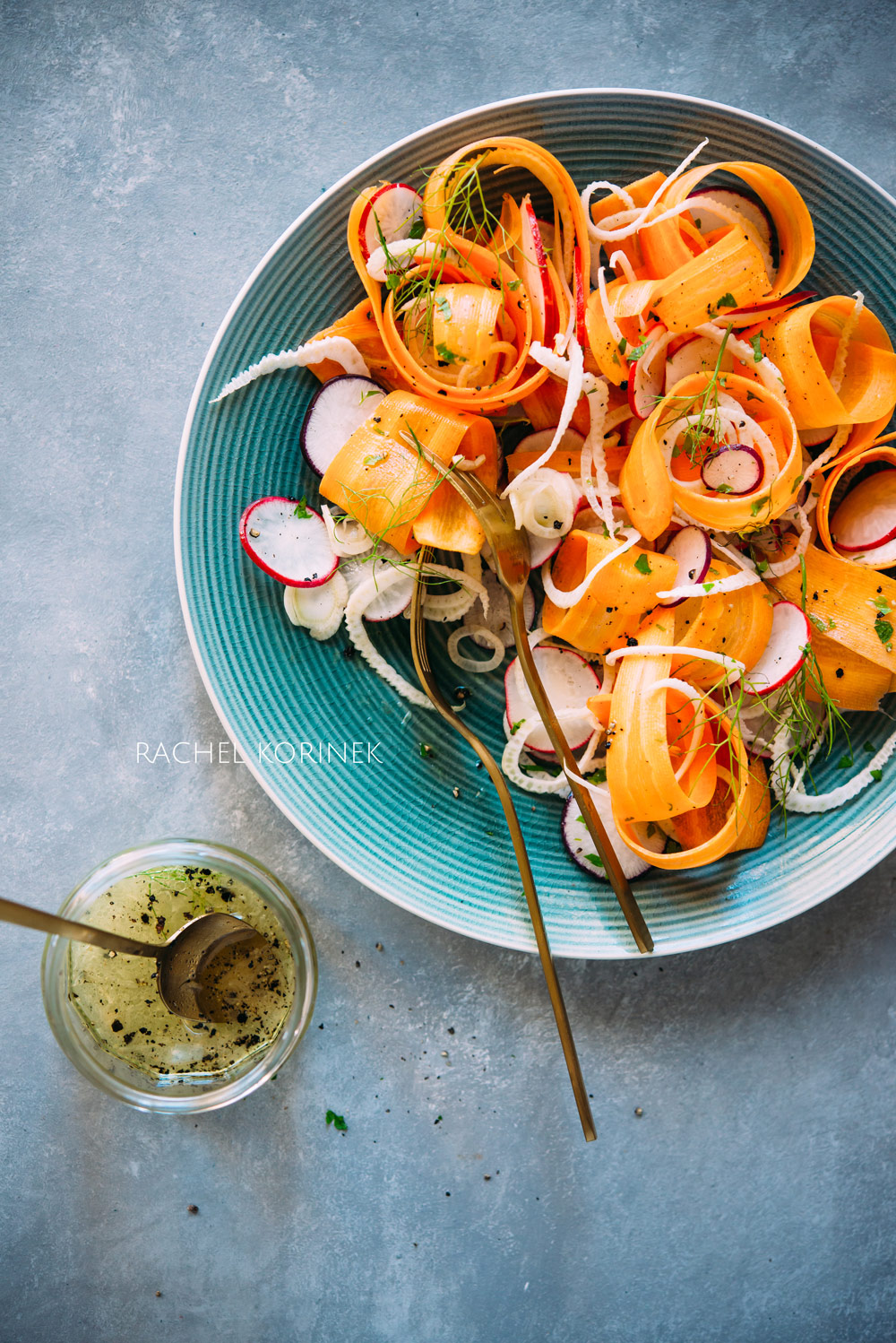 Rachel Korinek Food Photographer Melbourne | Carrot Radish Salad for Rocket + Beets