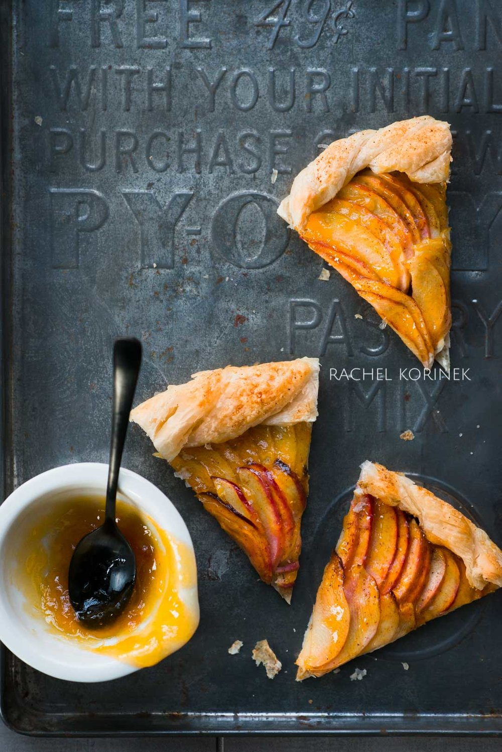 Rachel Korinek Melbourne Food Photographer Apple Crostata