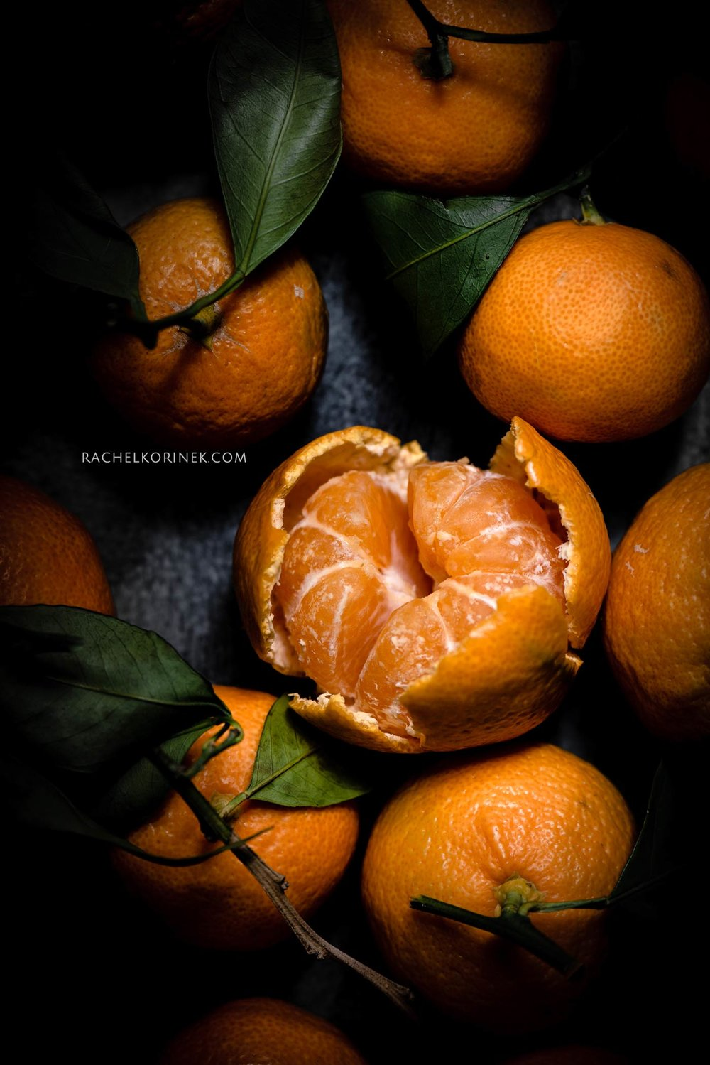 Rachel Korinek | Food Photographer Satsuma Still Life