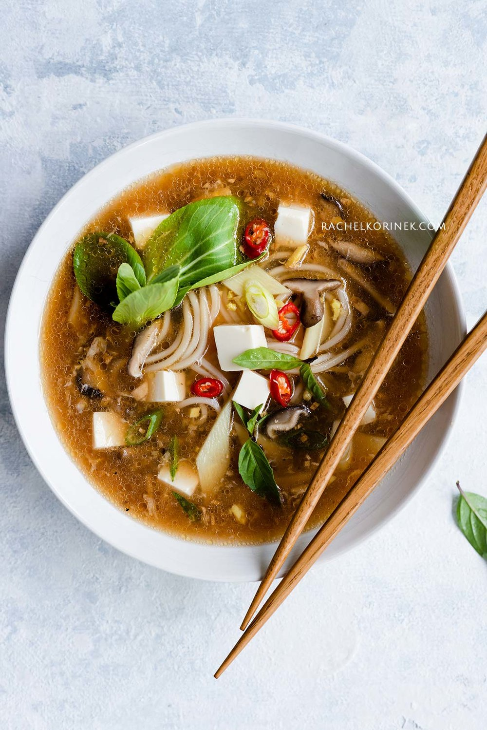 Rachel Korinek Food Photography | Hot Sour Soup