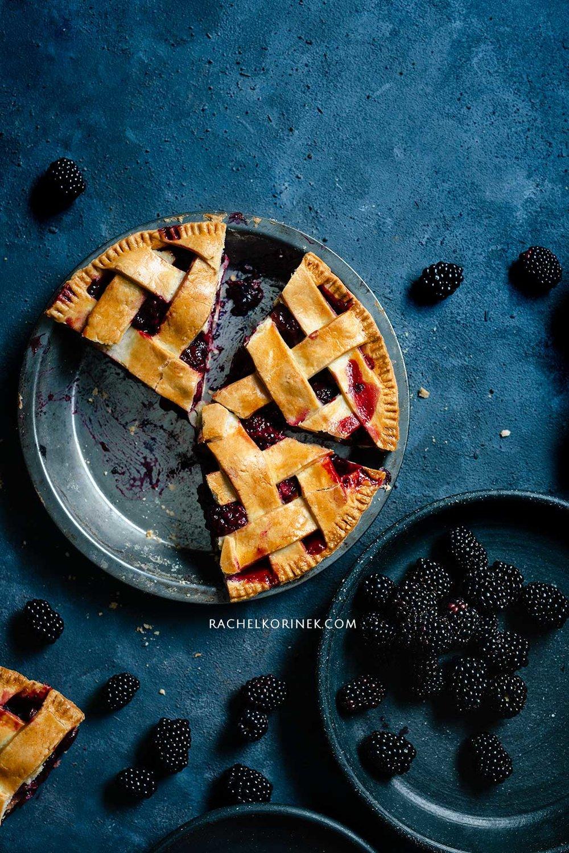 Rachel Korinek Pie + Galette Pastry Food Photography