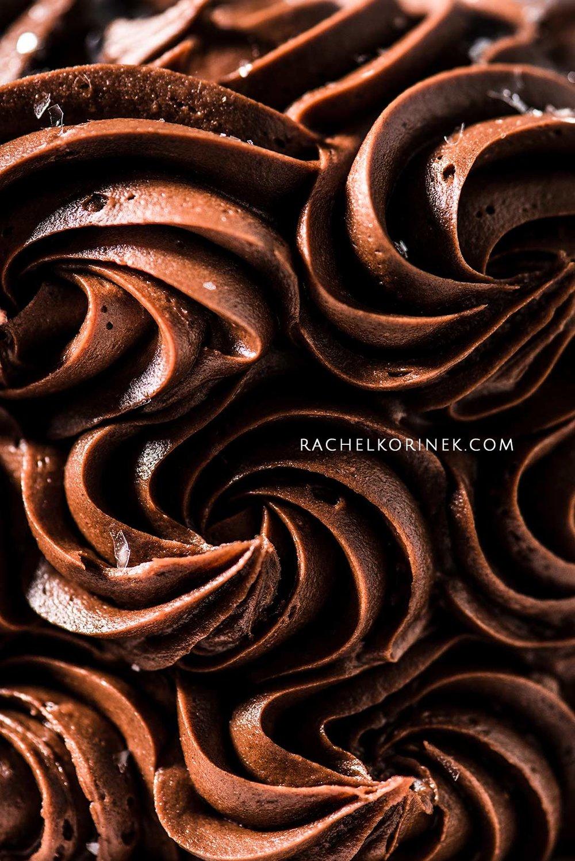 Rachel Korinek Food Photographer | Chocolate Swirl Cake