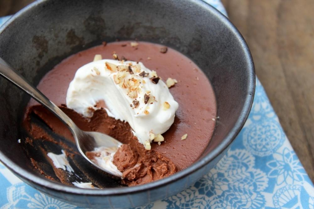 """Hazelnut, Bittersweet chocolat & fleur de sel """"pot de ..."""