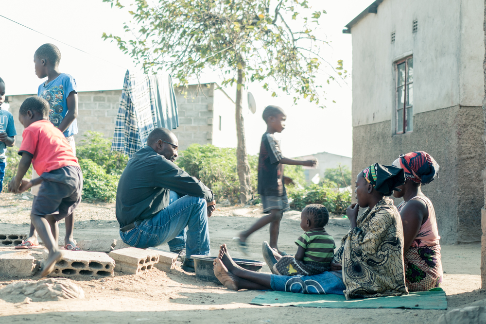 ZAMBIA: [Home Visit] Pastor Banda was a faithful example. While we waited for Sarah to finish cooking he was engaging other people in the community with he gospel.