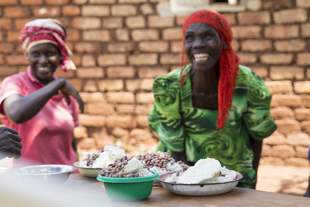 UGANDA: [Home Visit] They gave us their best. And ate beans and rice..