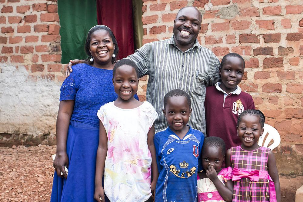 UGANDA: [Pastor Visit] Pastor Ivan Wanda and family