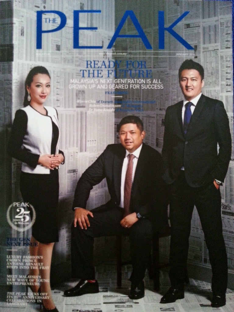 The Peak January 2014 Magazine Cover
