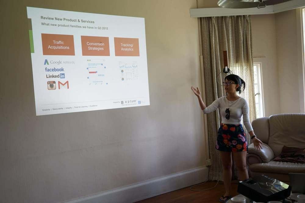 Digital agency sales deck presentation by Ashley Ong