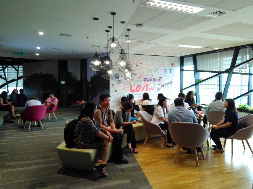 Google Partners Co-Pitching Event with Gapture® Malaysia Google Guest Lounge