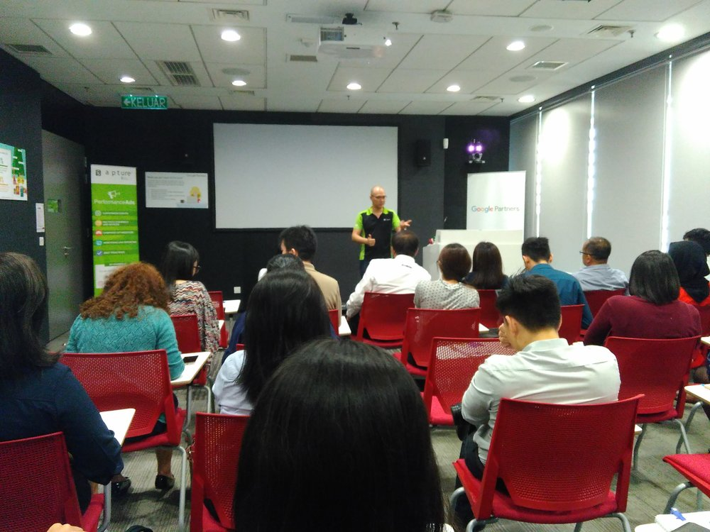 Google Partners Co-Pitching Event with Gapture® Malaysia Stanley Chee Google Regional Trainer Q and A
