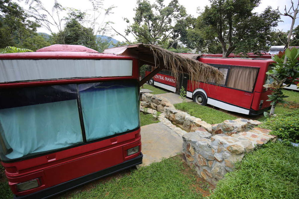 The Metal Box - repurposed old buses