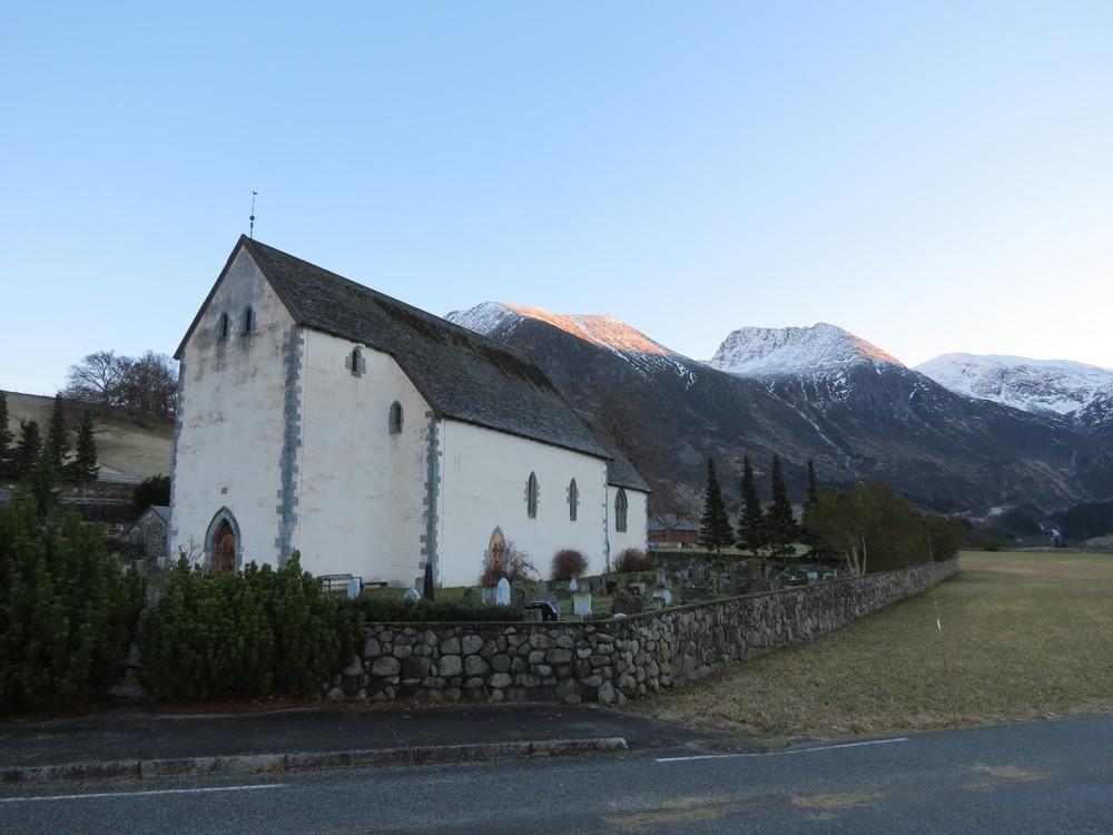 Kvinnherad kyrkje januar 2013