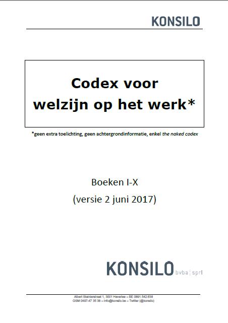 Codex voor Welzijn op het Werk