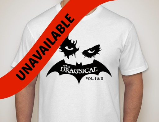 BATGUY IS DEAD: The DRAGSICAL ™  T-Shirt (ADULT SIZES)