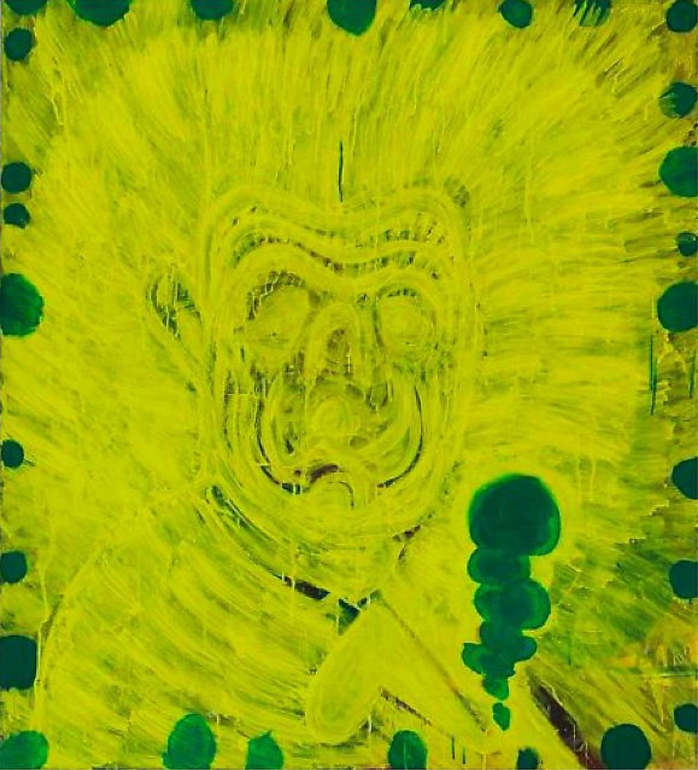 'Selvportrett med sigarett', 2010