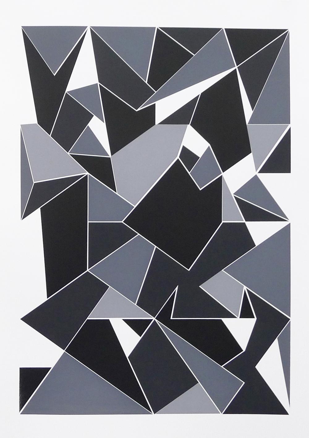 Lello//Arnell, 'Apophenia (Greyscale) #02', 2016