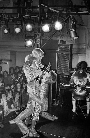 Bowie/Ronson, Guitar Fellatio, 1971