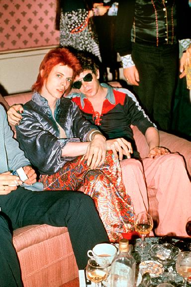 Bowie/Lou, Dorchester Hotel, 1972
