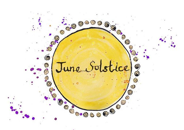 🌞Today it's the June Solstice!🌞 What does this mean? In the Northern Hemisphere, we will have the longest day of the year. It marks the first day of astronomical summer, but is also known as midsummer following the meteorological definition of the seasons. Despite the fact it marks the summer ahead, I always find the summer solstice a little bittersweet, as it means the days will start getting shorter. • • • #trixibelleillustration #trixibellesalmanac #june #summer #junesolstice #summersolstice #solstice #illustration #nature #watercolor #watercolour #dippen