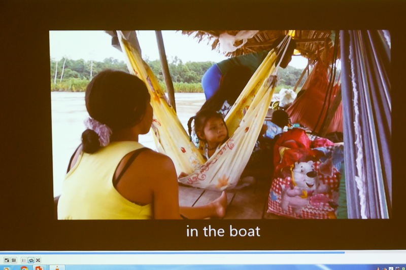 A still from Vera's film about her time spent with the indigenous communities in Amazonia and in the Xingu National Park.