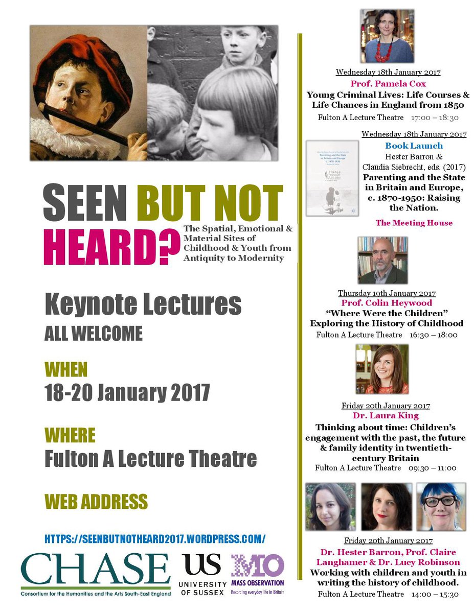 Seen but not heard conference