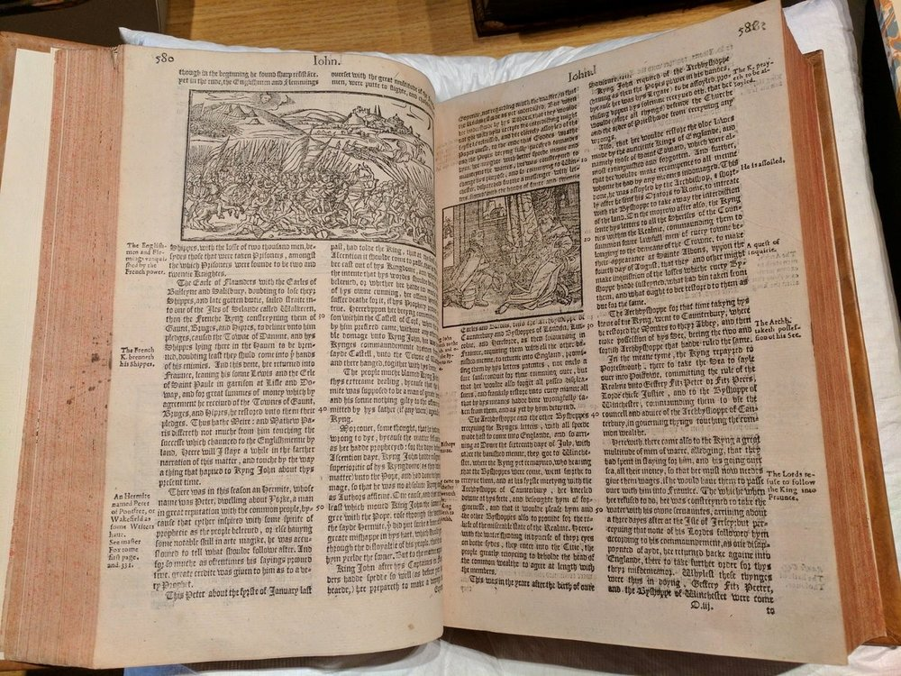 First edition of Holinshed's Chronicles (1577)