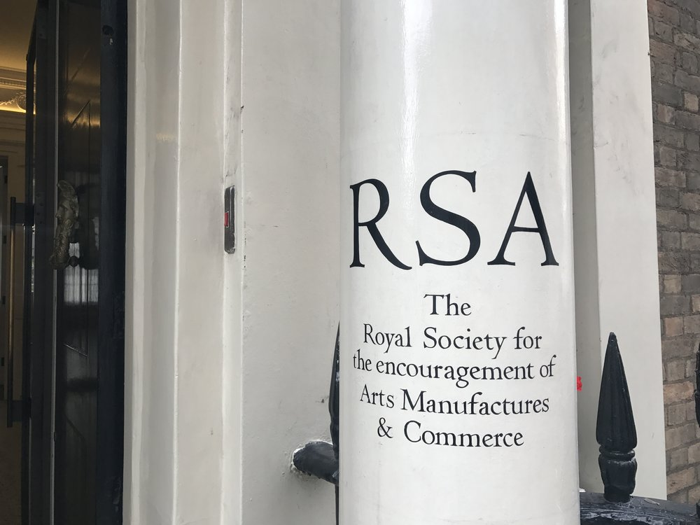 Vitae 'One size does not fit all' was presented at  RSA House , London.