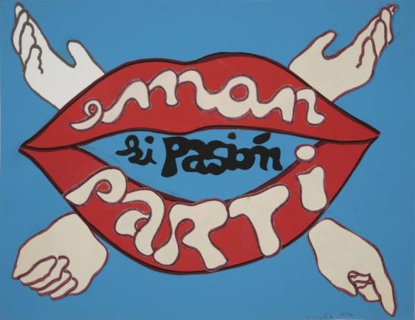Cecilia Vicuña, eman si pasión / parti si pasión, 1974, © Cecilia Vicuña, Image © ESCALA.
