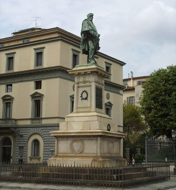 Giuseppe Garibaldi Monument in Florence